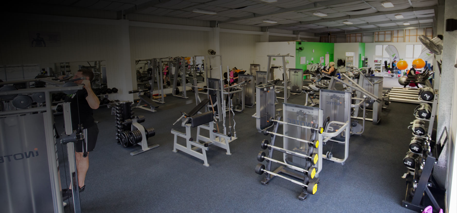 Gym equipment at Z 24 Hour Fitness, Bream Bay