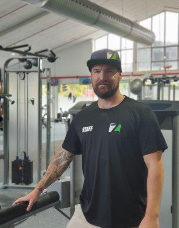 Derek Taylor Z24hour Gym Owner/ General Manager.